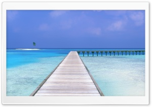 Pier Tropical Seascape