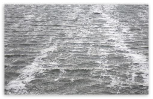 Download Sea Water Black And White UltraHD Wallpaper