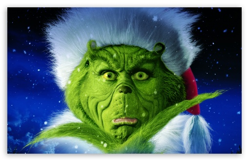 Download Dr. Seuss' How the Grinch Stole Christmas UltraHD Wallpaper