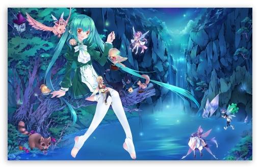 Download Anime Fairies UltraHD Wallpaper