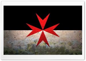 Grunge Maltese Cross