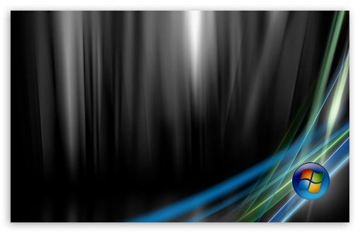 Download Vista Ultimate Black UltraHD Wallpaper