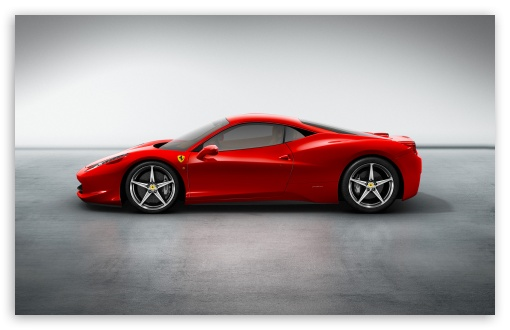 Download 2010 Ferrari 458 Italia UltraHD Wallpaper