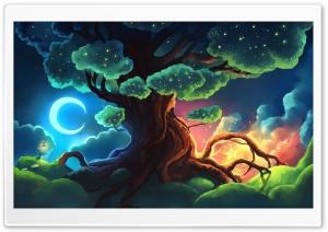 Magical Tree Fantasy Art