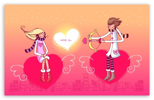 Download St. Valentine UltraHD Wallpaper