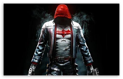 Download Batman Arkham Knight Red Hood UltraHD Wallpaper
