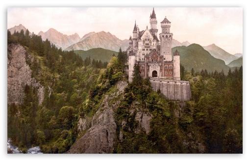 Download Neuschwanstein Castle, Bavaria, Germany UltraHD Wallpaper
