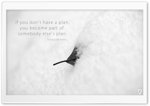 You Must Have a Plan