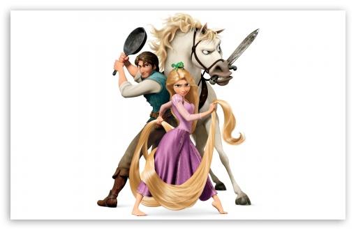 Download Tangled Disney   Rapunzel And Flynn Ryder UltraHD Wallpaper