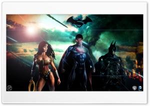 Superman Batman Wonderwoman DC