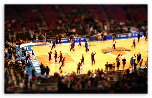 Download Basketball Game UltraHD Wallpaper