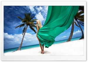 Blonde Girl on the Beach