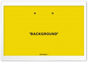 Off-white Background