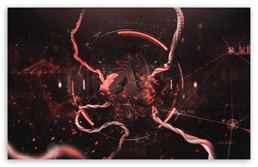 Download Apex Legends Red Bloody UltraHD Wallpaper