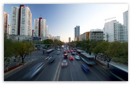 Download Beijing Anly Road UltraHD Wallpaper