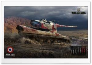 World of tanks: tank Amx 50B