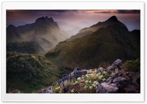Limestone Mountains, Thailand