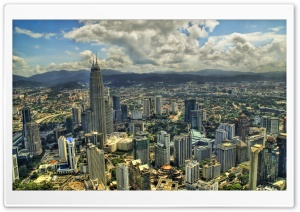 Kuala Lumpur From The Air