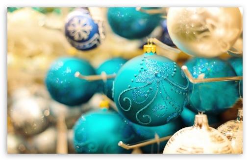 Download New Year Decorations UltraHD Wallpaper