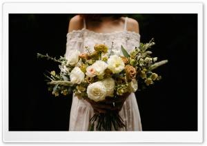 Rustic Wedding Bouquet, Bride