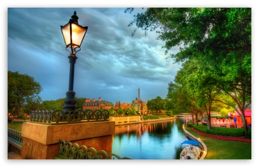 Download The French Quarter Of Disney UltraHD Wallpaper