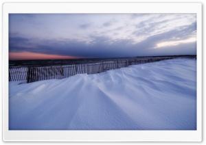 Snowy Beach, Winter