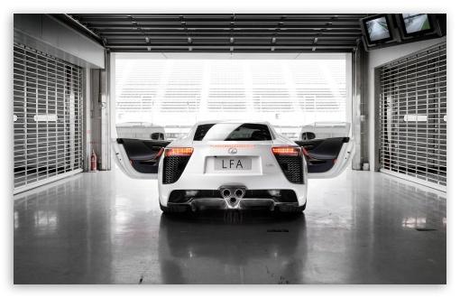 Download Lexus LFA UltraHD Wallpaper
