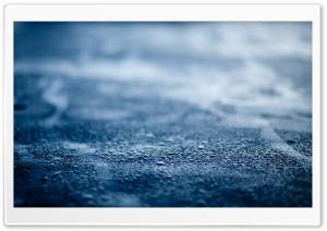 Blue Wet Surface