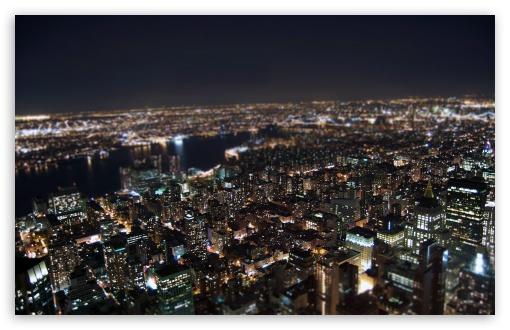 Download Miniature City UltraHD Wallpaper