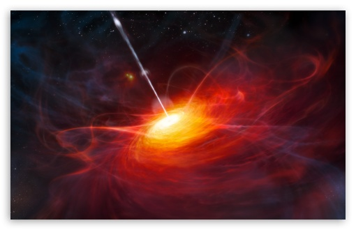 Download The Most Distant Quasar UltraHD Wallpaper