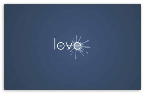 Download Love Splash UltraHD Wallpaper