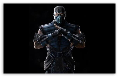 Download Mortal Kombat X Sub-Zero UltraHD Wallpaper