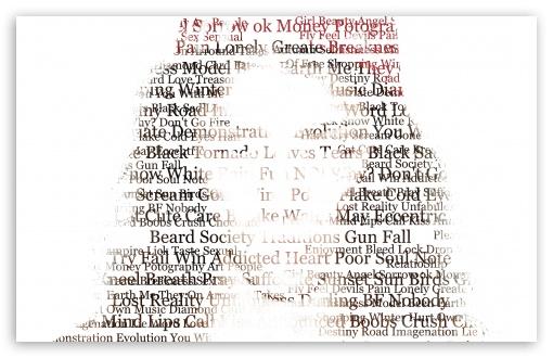 Download Girl Of Words UltraHD Wallpaper