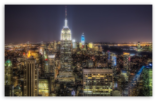 Download Manhattan, NY UltraHD Wallpaper