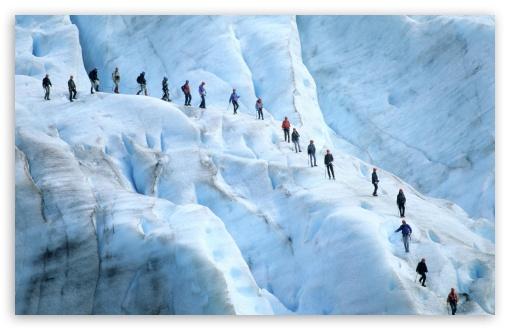 Download Glacier Norway UltraHD Wallpaper