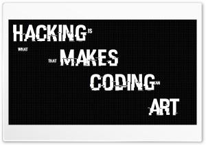 Hacking is Art