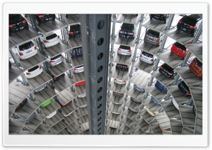 Cars Tower Parking
