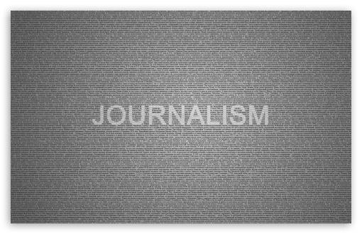 Download Journalism Typography UltraHD Wallpaper