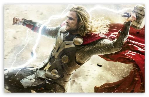 Download American Superhero film Thor The Dark World UltraHD Wallpaper