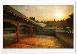 Path To The Temple Of Heaven