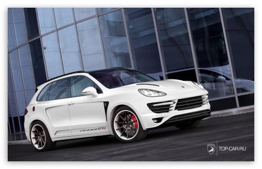 Download Porsche Cayenne Vantage GTR II UltraHD Wallpaper