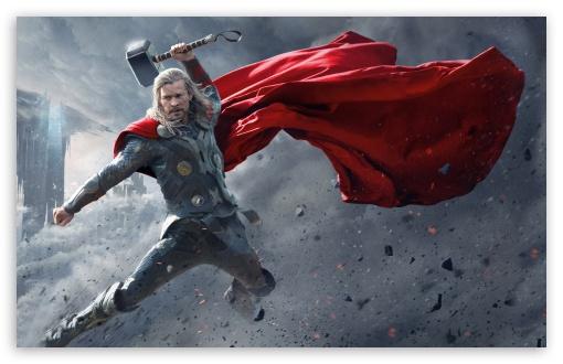 Download Thor The Dark World Super Hero Picture UltraHD Wallpaper