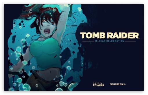 Download Tomb Raider 15-Year Celebration UltraHD Wallpaper
