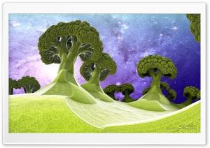 Broccoli Planet 3D