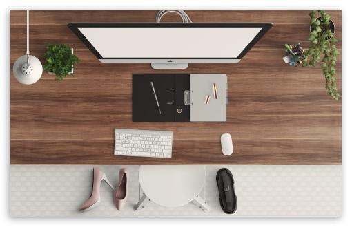 Download Girly Desk UltraHD Wallpaper