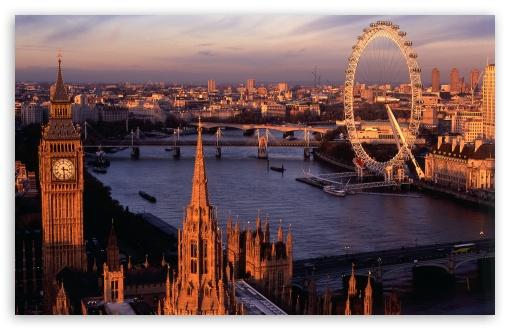 Download London Panorama UltraHD Wallpaper