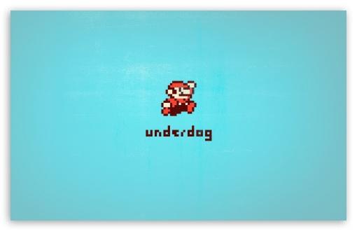 Download Mario 8 Bit UltraHD Wallpaper