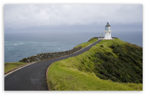 Download Road To The Lighthouse UltraHD Wallpaper