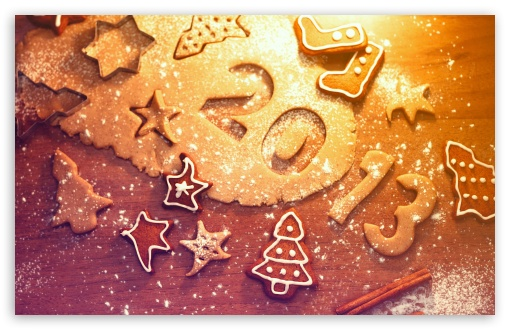 Download 2013 Happy New Year UltraHD Wallpaper