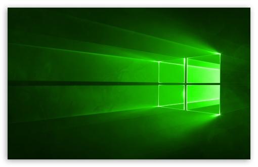Download Windows 10 Green UltraHD Wallpaper